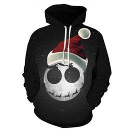$enCountryForm.capitalKeyWord Australia - Men Women Hoodies Pullover Sweatshirts Long Sleeve 2018 Autumn Winter Brand Hooded 3D Print Tracksuit Plus Size Tops Christmas Skull