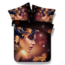 3d Bedding Sets King Australia - 3D butterfly Duvet Cover galaxy Bedding Sets Bedspreads Holiday Quilt Covers Bed Linen Pillow Covers maple girls women twin California King