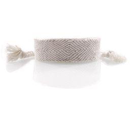 $enCountryForm.capitalKeyWord UK - 2018 new fashion pure white single tone friendship bracelet misangas handwoven cotton embroidery cord versatile summer bracelet
