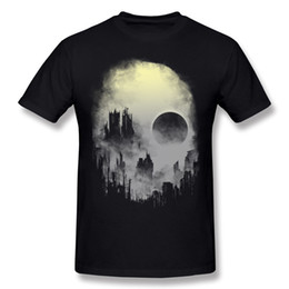 $enCountryForm.capitalKeyWord NZ - New Coming Mens 100% Cotton Fabric abandoned city T-Shirt Mens O-Neck White Short Sleeve Slim Fit t shirt 6XL Custom T-Shirt