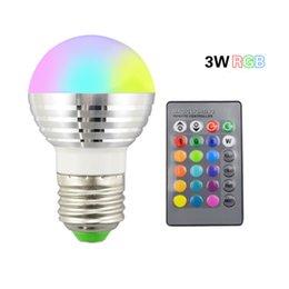 Led Bulbs & Tubes Lights & Lighting Buy Cheap 1pcs Rgb Bulb 110v 220v Gu10 E27 E14 Rgb Lampada 16 Color Magic Led Night Light Lamp Dimmable Stage Light 24key Remote Led Light Fancy Colours