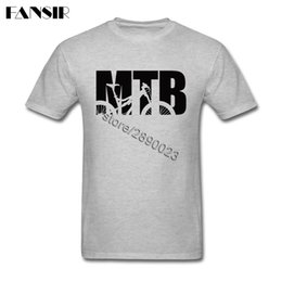 0d10e53ba Awesome Men T-shirts MTB Bikes Short Sleeve Cotton O Neck T Shirt For Male Shirt  Clothing