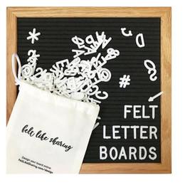 "$enCountryForm.capitalKeyWord Australia - 10x10"" Black Felt Letter Board 340 Characters Letters FREE Craft Knife Cloth Pouch Oak Wood Frame Easels DIY Message boards"