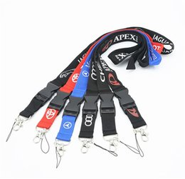 Chinese  Wholesale Free Shipping Hot Car brand lanyard for mobile phones Camera keychain badge holders or e-cigs VIP pass manufacturers