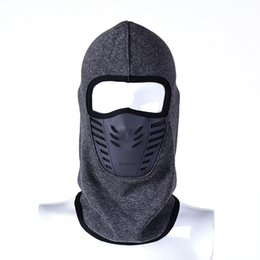Sports & Entertainment Fine Bycycle Riding Ski Mask Outdoor Sports Training Mask Thickening Fleece Warm Hoods Autumn And Winter Windproof Cold Smog Mask Cycling Face Mask