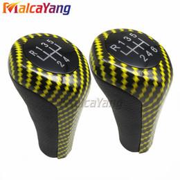 $enCountryForm.capitalKeyWord Canada - Carbon Fiber 5 6 Speed Manual Gear Stick Shift Lever With M Logo For BMW E30 E32 E34 E36 E38 E39 E46