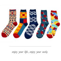 7f2f394e29 Over knee high sOcks mens online shopping - flower five style pair Mens  Happy Socks Hot