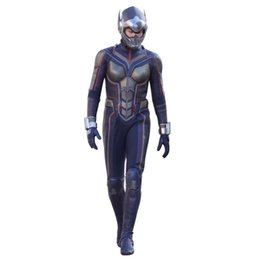 Masked Costumes For Women UK - New Women Ant-Man And The Wasp Cosplay Costume Halloween Carnival Wasp Costume For Women Jumpsuit and mask