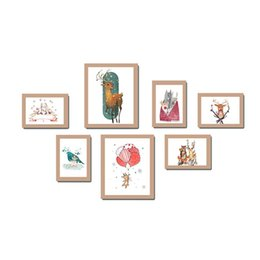 $enCountryForm.capitalKeyWord UK - 7 Photo Frame Wall Gallery Kit Includes: Art Painting Core,for Interior dining room living room dining room