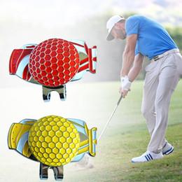 82b93efd484 Golf Marker Cap NZ - Golf Ball Marker Golf Hat Clip Alloy Magnetic Durable  Outdoor Gift