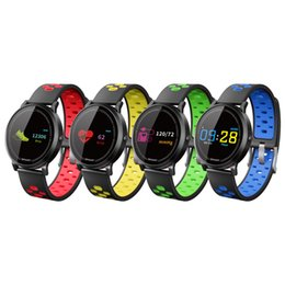 $enCountryForm.capitalKeyWord Canada - Heart Rate Blood Pressure Smart Band Sports Bracelet Fitness Tracker Reminder Wristband Health Monitor F4 Smart Watches for iPhone Android