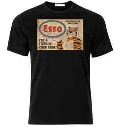 Tiger Tank T Shirts Australia - Esso Put A Tiger In Your Tank - Graphic Cotton T Shirt Short & Long Sleeve