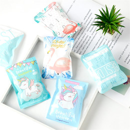 wholesale ice pack bag 2019 - 2018 Cute Summer Cold Cooler Bags Cartoon Fruit Reusable Gel Ice Bag Cool Pack Health Care Pain Relief Random Color