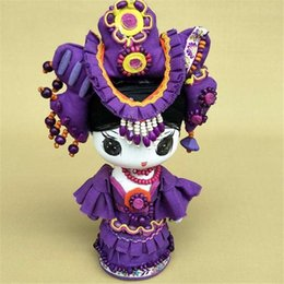 Chinese  Cartoon doll puppet national jewelry, Home Furnishing shop decoration, Valentine's Day children's Day gifts manufacturers