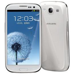 2e57fd25af4 Reacondicionado Original Samsung Galaxy S3 i9300 i9305 4.8 pulgadas HD Quad  Core 1.4 GHz GPS Wifi 3G WCDMA 4G LTE Desbloqueado Teléfono inteligente DHL  ...