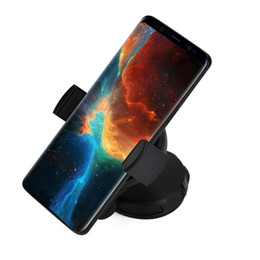 qi wireless charging for iphone plus UK - Qi Wireless Car Charger Phone Charging Mount Holder For iPhone X 8 Samsung Note 9 S9 S8 Plus Xiaomi mi Mix 2s Fast Wireless