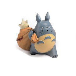 Chinese  Christmas Gifts Piggy Bank Figurines Household Decor Cute TOTORO Piggy Bank Resin Dispenser Coin Bank Children Toys Gifts manufacturers