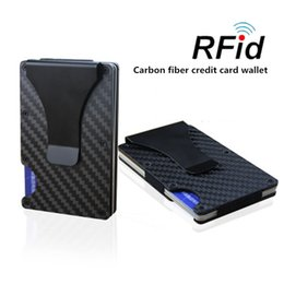 Chinese  RFID-Blocking Rfid Wallet Aluminum Slim ABS Credit Card Metal Wallet Holder Money Clip Wallet Provide OEM and Drop-shipping manufacturers