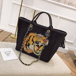 sugao 2018 new style fashion designer hanbags cartoon tiger velvet chain  bag shoulder bags crossbody for girl and women ea018454c7445