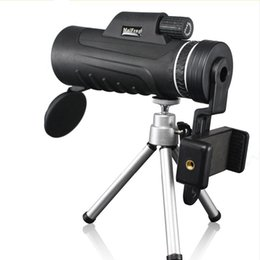 China 40x60 Monocular Telescope Professional HD Mini Handheld With Tripod Phone Clip Tripod Ultra Wide Angle Rotary Goggles cheap handheld monocular telescope suppliers