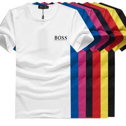bf37556f11 Luxusmarke t-shirt männer 2018 neue modedesignerin boss brief modische  rundhals mann T-shirt kurzarm t-shirt Tops a1