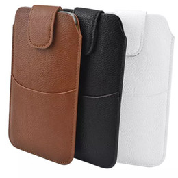 China Pockets waist Pouch For Samsung Galaxy S8 S7 S6 S5 Plus PU Leather Holster Bag Phone Cases For J7 J3 J5 A5 A7 2017 5.5'' Within suppliers