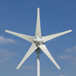 48v generator 2019 - UPGRADED 400W Wind Turbine Generator Three or Five Wind Blades Option 12v 24v 48v controller Fit for Home Or Camping