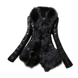 women s down parka sale Australia - Winter Casual Coat Women Hot Sale Fashion New Designer Women Warm Fur Collar Coat Leather Thick Jacket Overcoat Parka #1011 S18101301