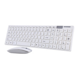 China Freeshipping 2.4G Optical Wireless Keyboard and Mouse Mice USB Receiver Combo Kit for MAC PC Computer suppliers