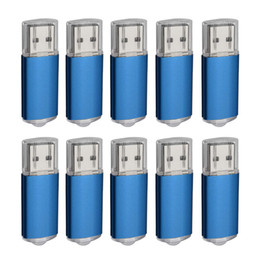 Thumb Flash Drive Australia - Blue Bulk 200PCS 32GB USB 2.0 Flash Drive Rectangle Thumb Pen Drives Flash Memory Stick Storage for Computer Laptop Tablet Macbook U Disk