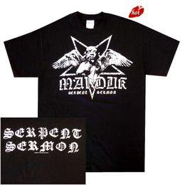 $enCountryForm.capitalKeyWord Canada - Tee Shirt Hipster Brand Clothing Marduk Serpent Sermon Official Shirt M L XL Black Metal T-Shirt New Men Streetwear T-Shirt