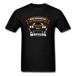 best mens t shirts UK - Best Driver Matilda Slim Fit T-shirts Round Collar 100% Cotton Mens Tops & Tees Korean Men Fashion Clothing Top Quality