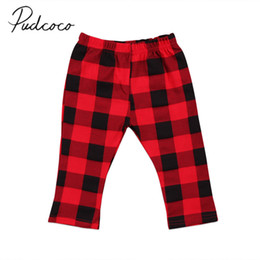 12 month girl leggings UK - 2018 Brand New Newborn Toddler Infant Kids Baby Girl Boys Plaid Pants Leggings Bottoms Checked Casual Clothes 0-3T