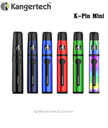 vape kanger NZ - Original Kanger K-Pin Mini All-in-One Starter Kit 2ml Tank with 1500mah Built-in Battery Kangertech Kpin Mini Vape Fit SSOCC