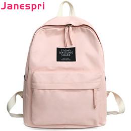 $enCountryForm.capitalKeyWord NZ - New Canvas Backpacks School Bags for Girls Student Book Bag Schoolbag Multifunctional Softback Women Backpack Bolsas Mochilas