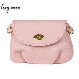 cheap small cross body handbags 2019 - Hot Sale Women's Leather Handbag Lady Messenger Bag Cross body Shoulder Bags Small Mini Casual Clutch Purses Cheap