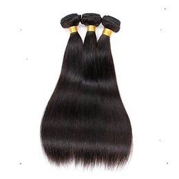 $enCountryForm.capitalKeyWord UK - Store discount Malaysian Virgin Straight Hair Extension 100% Human Remy Hair Weaving 6a Unprocessed Double Weft Hair Extensions