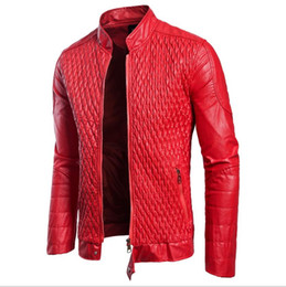 China Autumn new men's special design leather clothing European and American style European code coat large size leather jacket cheap jackets special man suppliers