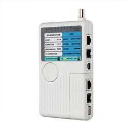 Опт Бесплатная доставка горячей USB портативный провод RJ45 BNC RJ11 1394 Ethernet сети LAN кабель тестер