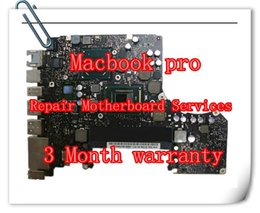 Wholesale For MACBOOK PRO UNIBODY quot A1278 A1286 A1297 A1370 A1369 A1502 A1425 A1398 A1465 LOGIC BOARD MOTHERBOARD LAPTOP REPAIR SERVICE