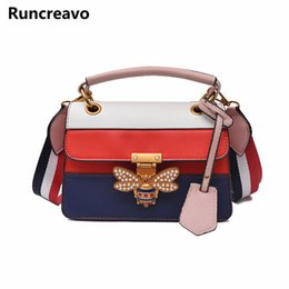 Women s Fashion Shoulder Bag Famous Designer Inspired Elegant Messenger Bag  Bees Casual Shoulder Black Woman Handbag Pearl 0335647bc28c2