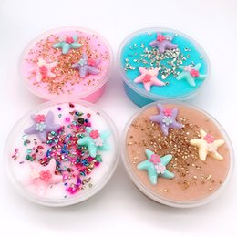 Crystals Science Australia - Non-Toxic Starfish Crystal Slime for Kids Jelly Slime Mud kids toys
