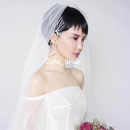 $enCountryForm.capitalKeyWord NZ - Free Shipping New Bridal Butterfly Ear Jewelry Clear Crystal Bridal Wedding Evening Prom Party Ear Decoration Jewelry Earrings Drop Shipping