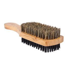 Disc Tools Australia - Double-sided Facial Hair Brush Men's Beard Brush Wooden Handle Shaving Comb Male Mustache Brush Solid 3 Sizes Shaving Tool free shipping