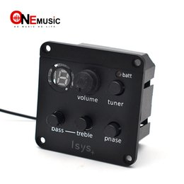 China ISYS + Soft Under Saddle Acoustic Guitar Pickup Preamp 2 Band EQ with Tuner Guitar Pickups cheap acoustic saddle suppliers