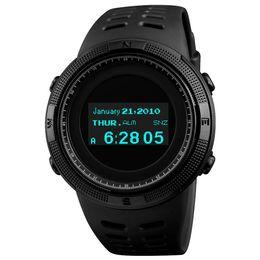 $enCountryForm.capitalKeyWord UK - Fashion Sport Watch Men Waterproof Calorie Steps Mileage Digital PU Strap Watch Compass Wristwatch Relogio Masculino XFCS