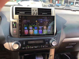 Gray console online shopping - Android HD touch screen Car DVD Multimedia GPS For Toyota Prado TX LC