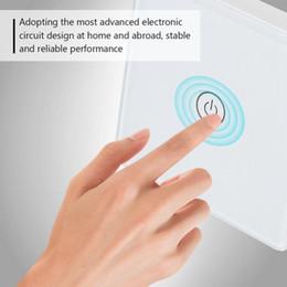 $enCountryForm.capitalKeyWord Australia - Smart Home Switch Crystal Glass Touch Screen Light Switch Wireless Remote Receiver Waterproof 600W,100-240V RF