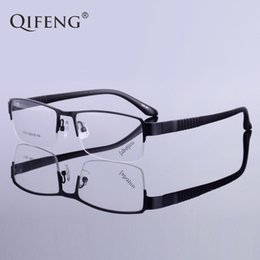 5eb9789666d QIFENG Spectacle Frame Eyeglasses Men Korean Myopia Computer Optical  Prescription Clear Lens Eye Glasses Frame For Male QF154