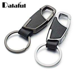 Braided PU Leather Strap Keyring Keychain Car Key Chain Ring Key Fob /&/&BSCA